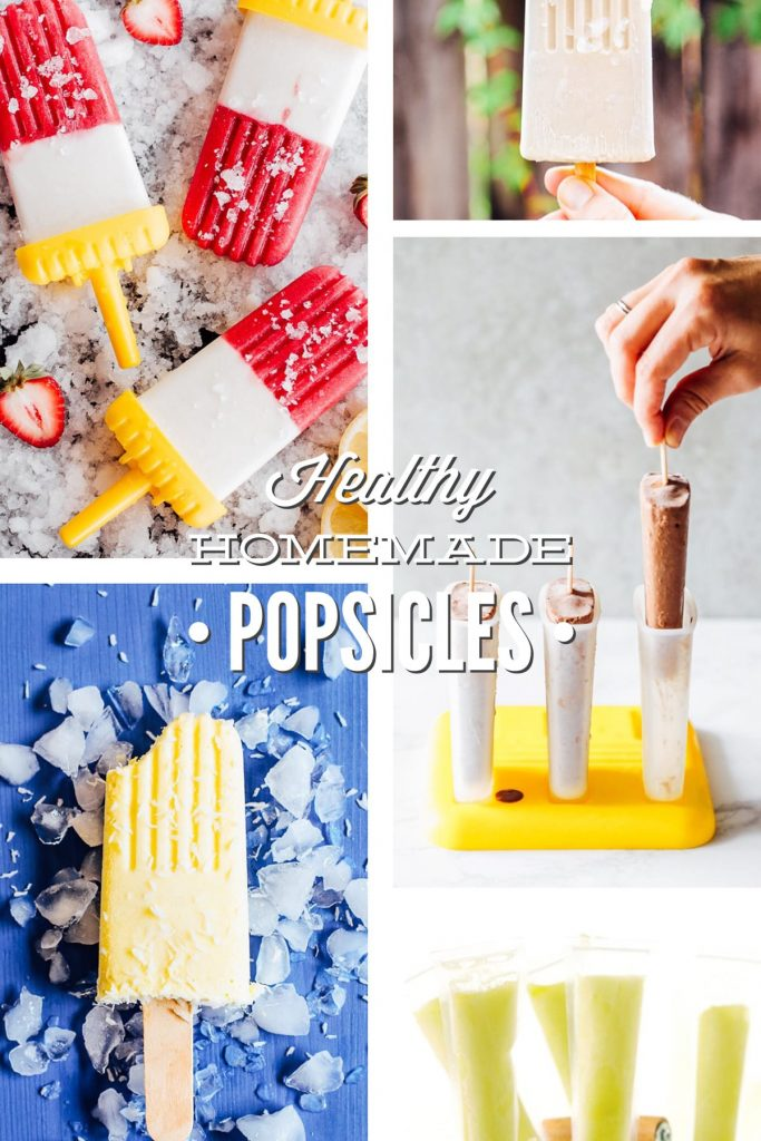 Healthy Homemade Popsicles