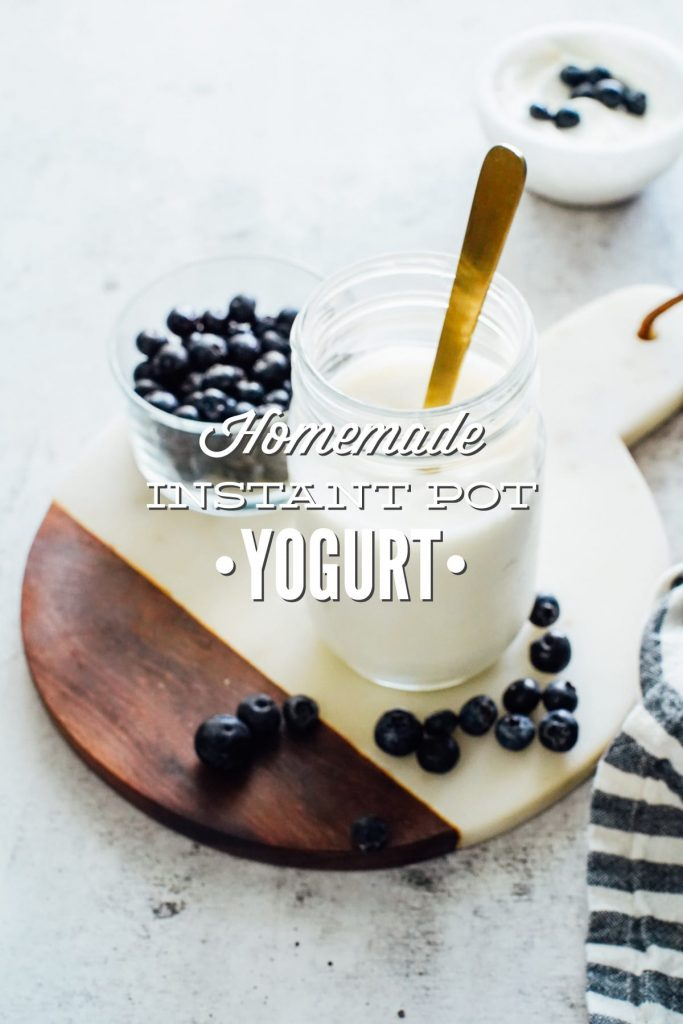 How to Make the Best and Easiest Homemade Yogurt in the Instant Pot