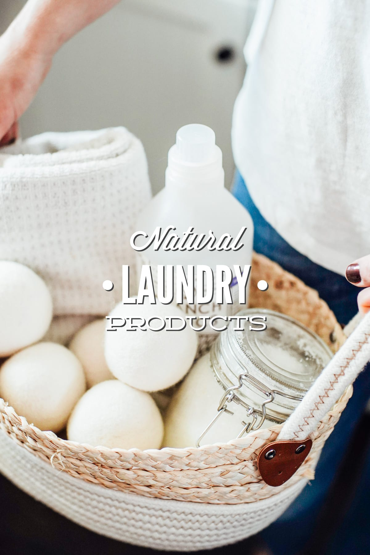 Natural Laundry Products: How to Go Natural With Every Product in Your Laundry Room