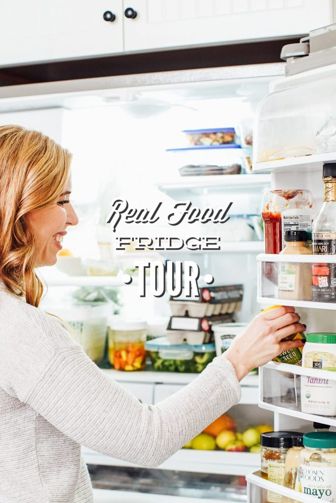 Real Food Fridge Tour