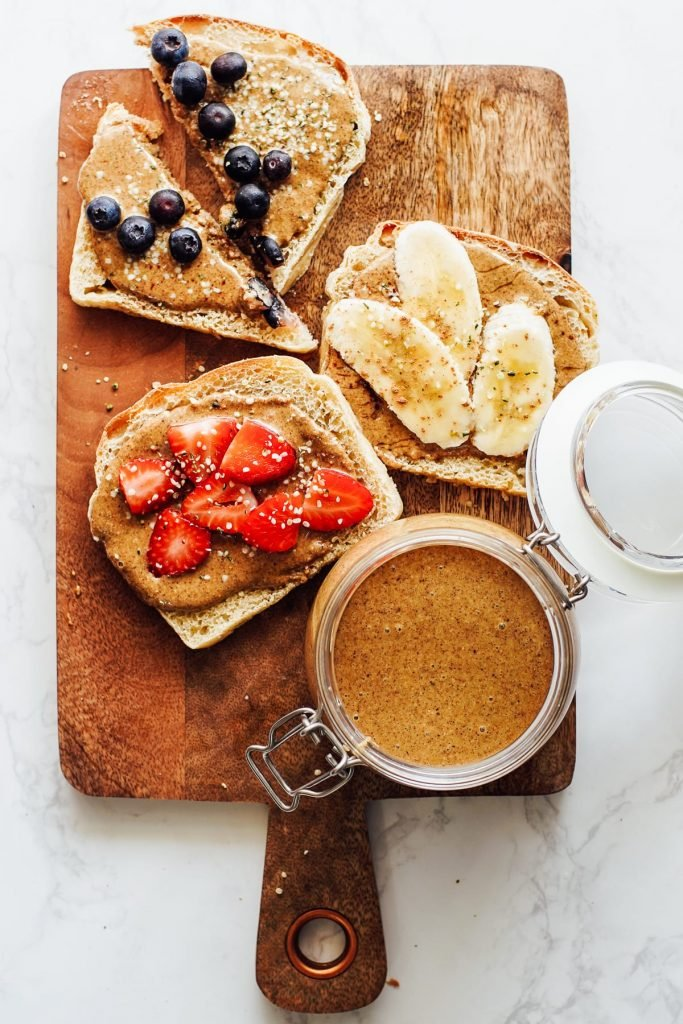 healthy kids school snack ideas: Nut butter for snacking