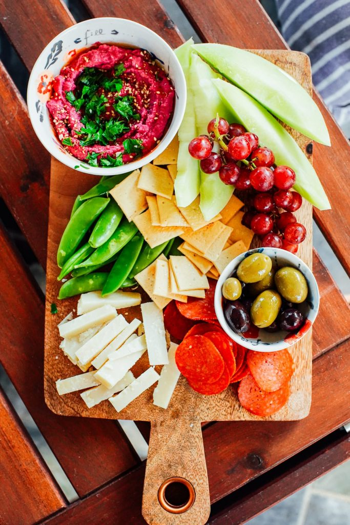 snack tray meals for summer