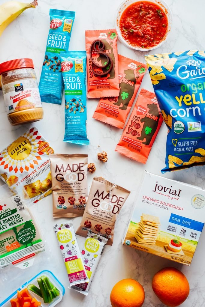 snacks for travel, camp, or home