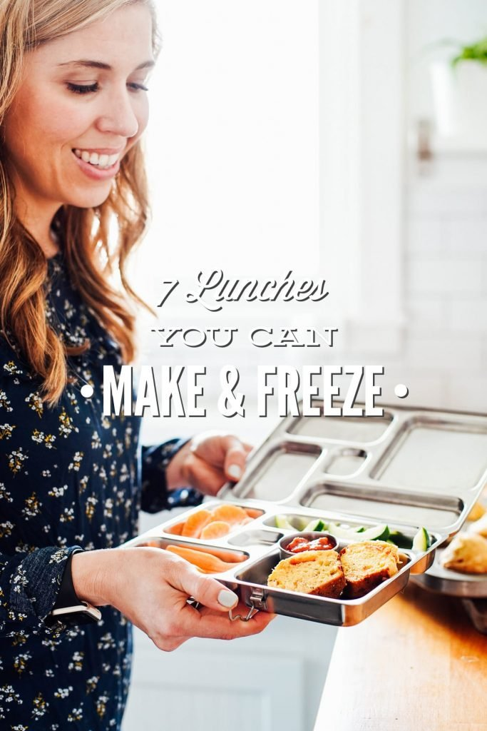 Lunches You Can Make and Freeze (School Lunch Ideas)