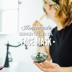 Homemade Spirulina Face Mask