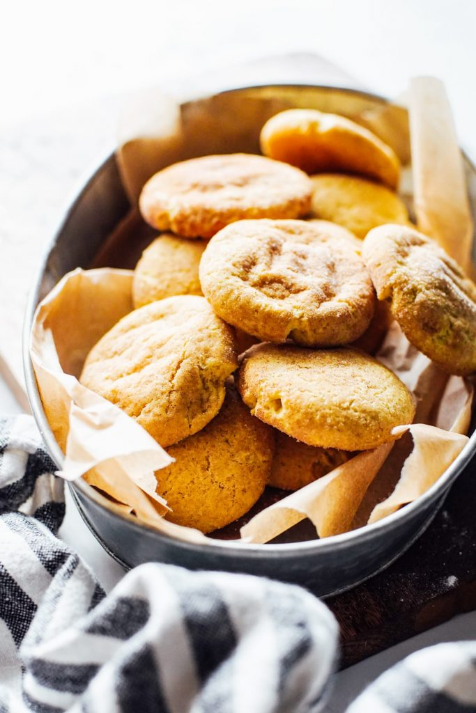 Einkorn Snickerdoodle Cookies (soft and chewy)