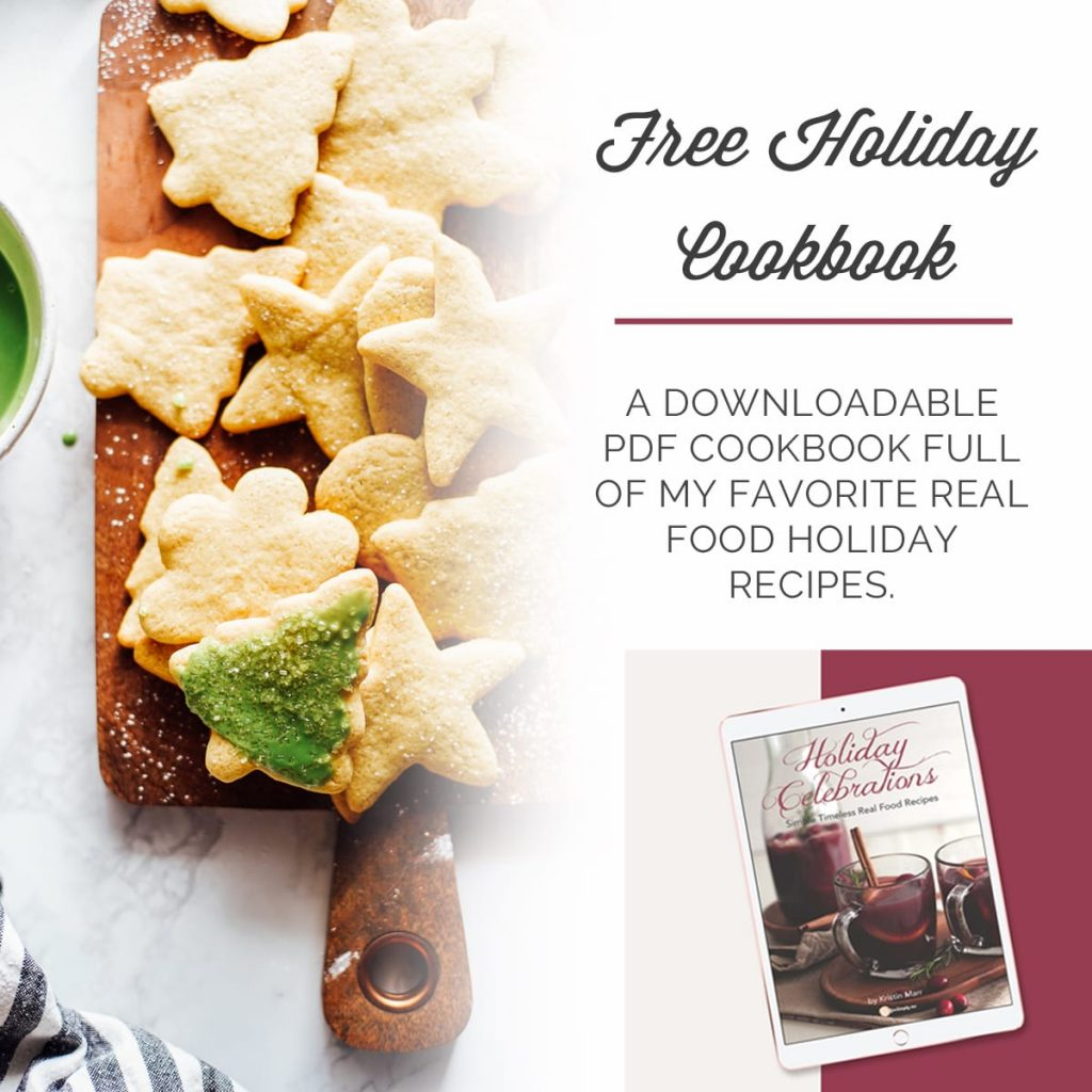 Healthy Holiday Recipes Cookbook