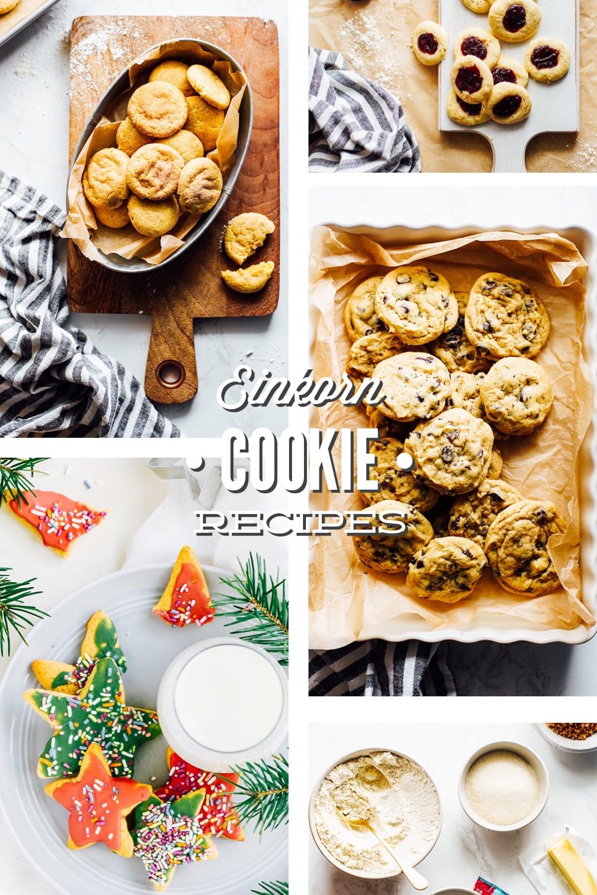 The Best Einkorn Cookie Recipes