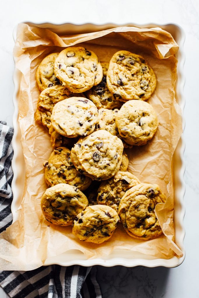 einkorn chocolate chip cookies