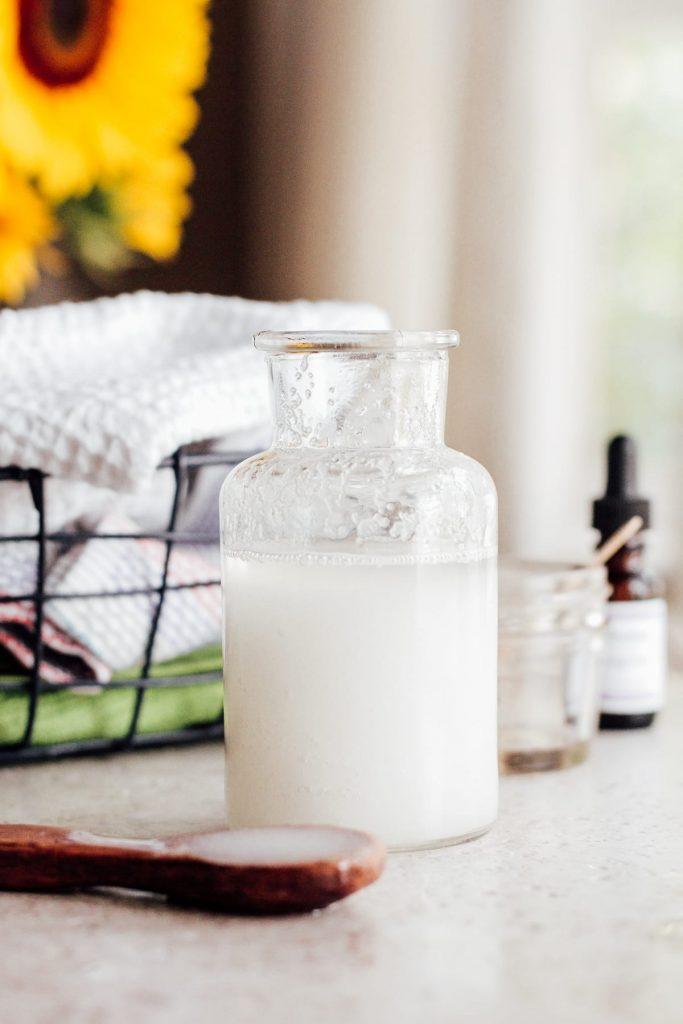 homemade salt scrub gift
