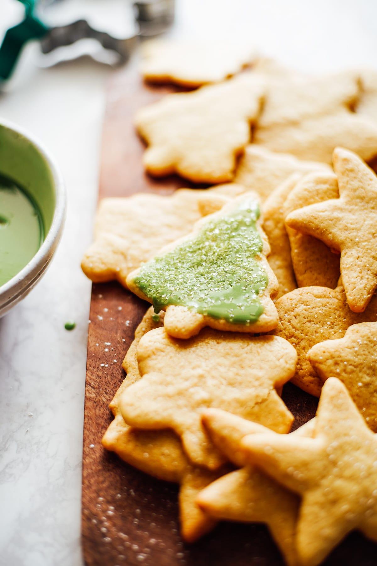einkorn sugar cookies