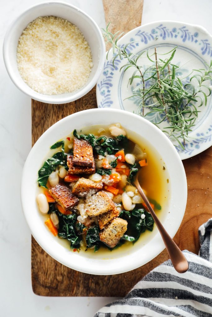 Vegetarian Tuscan Soup
