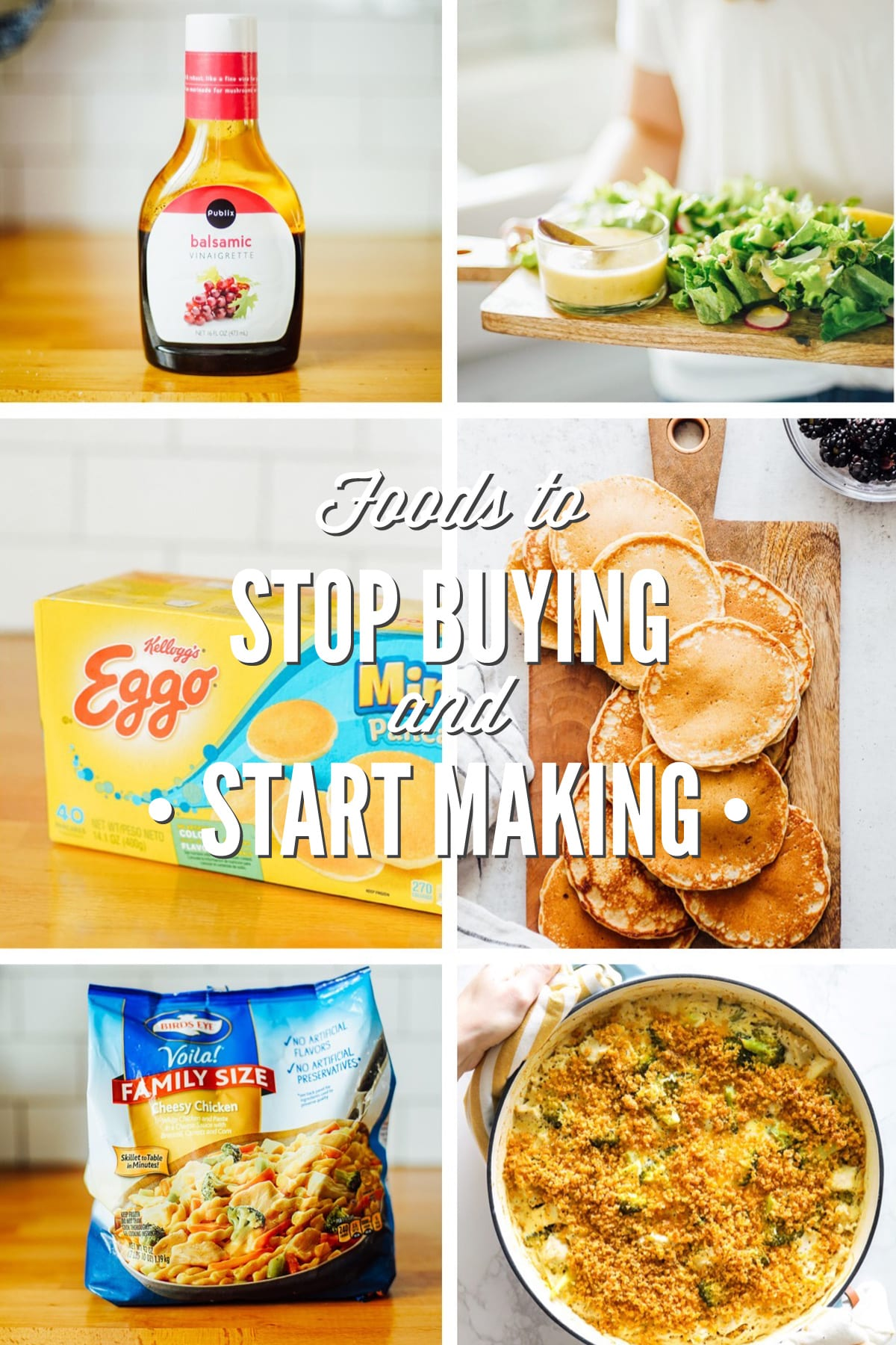 Processed Foods to Stop Buying and Start Making