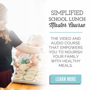 Live Simply Lunch Course