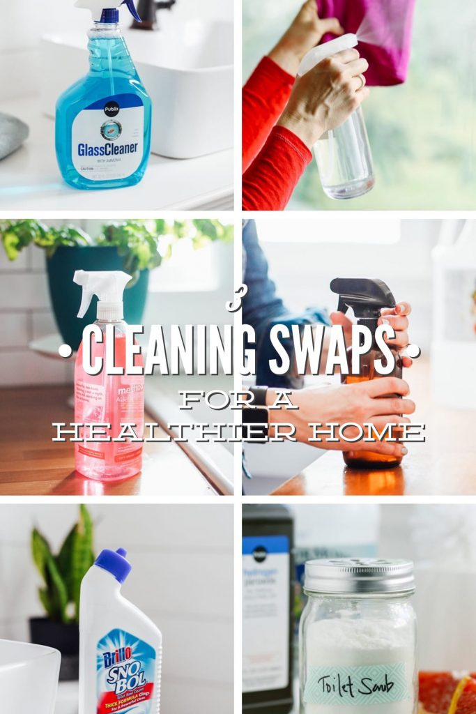 3 Cleaning Swaps for a Healthier Home