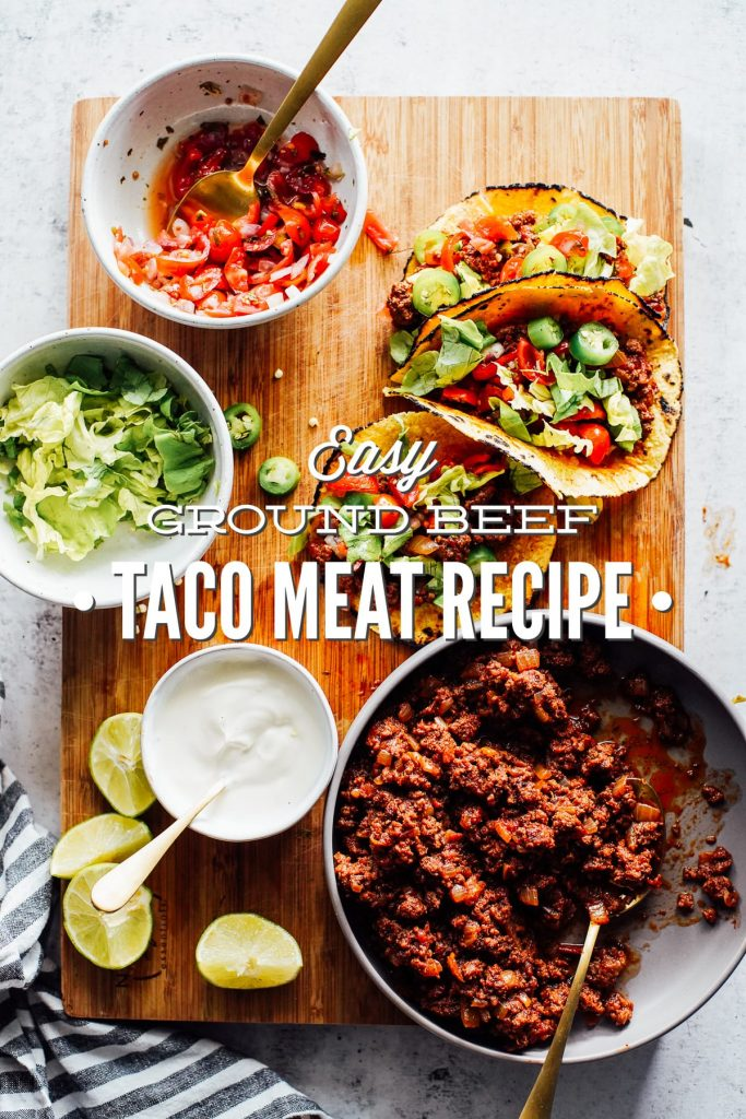 Easy Ground Beef Taco Meat Recipe