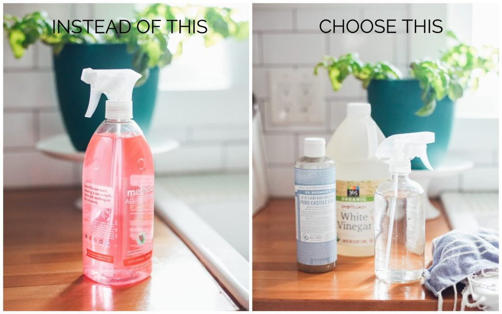 cleaning swaps