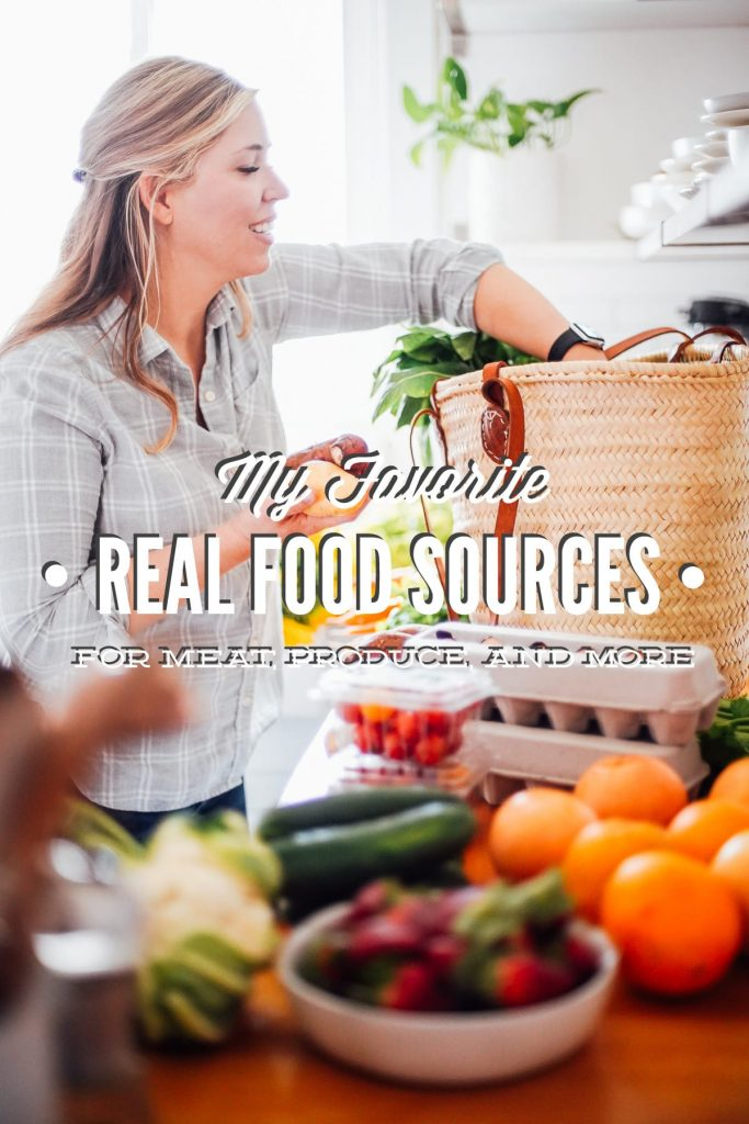 where to find local real food: meat, bread, seafood, produce, and more