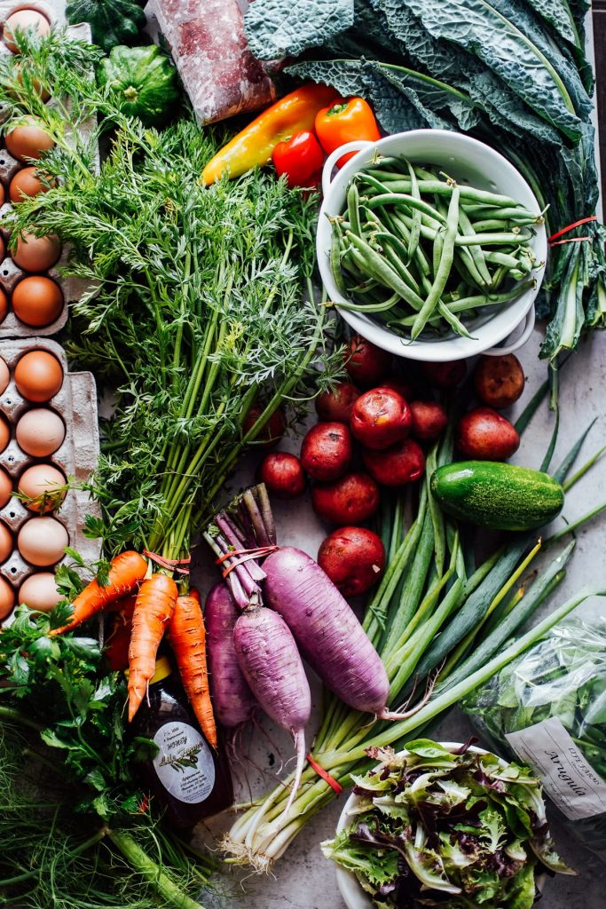 Where to find local food