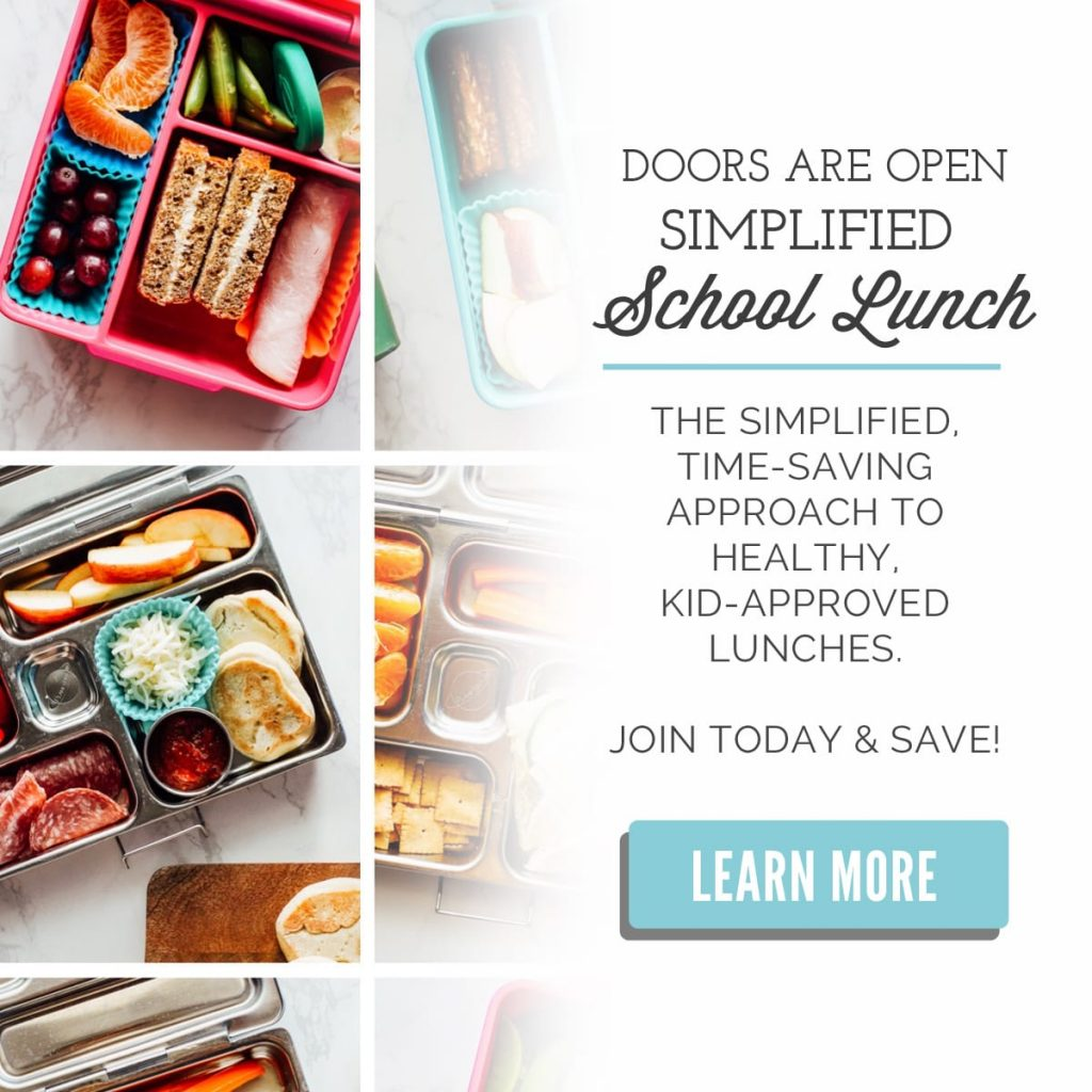Simplified School Lunch Course