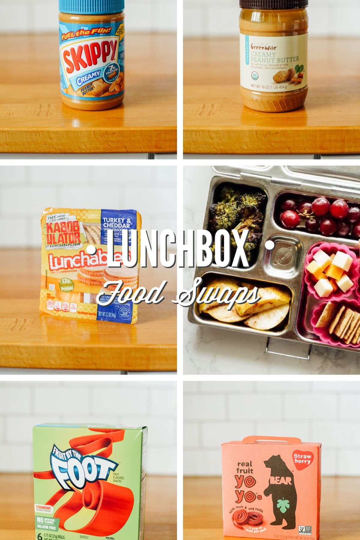 Easy Healthy Lunchbox Swaps