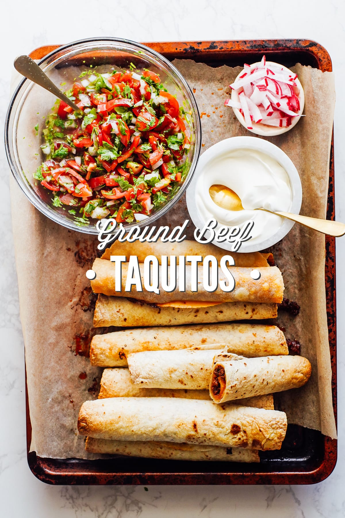 Ground Beef Taquitos