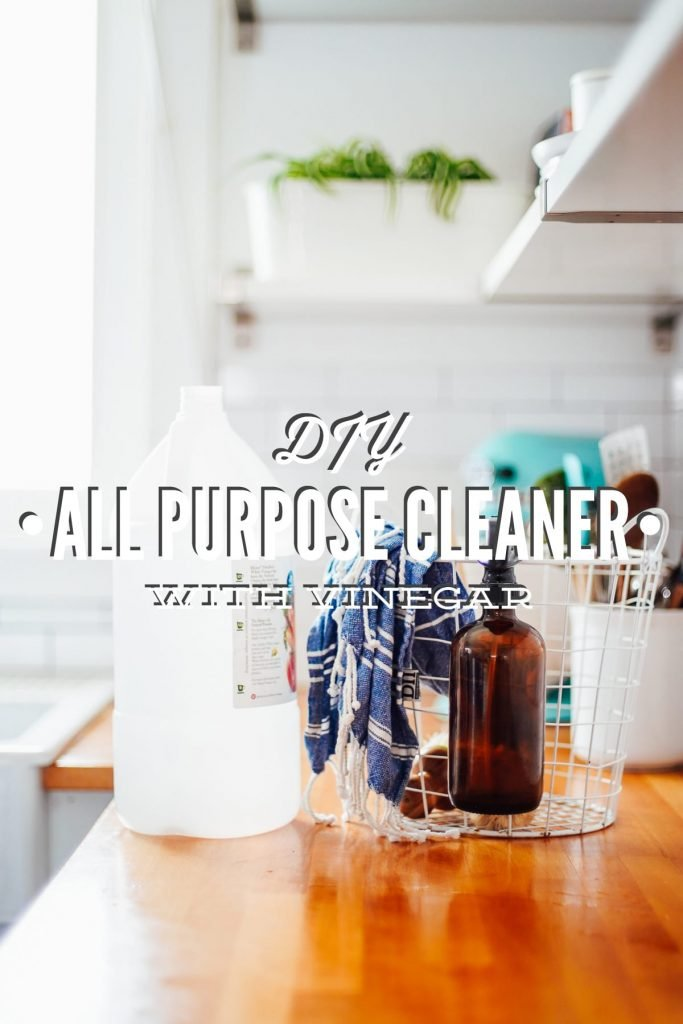 DIY All Purpose Cleaner With Vinegar
