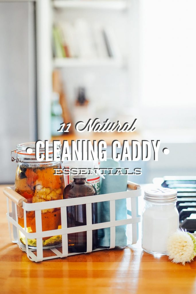 Natural Cleaning Caddy Essentials