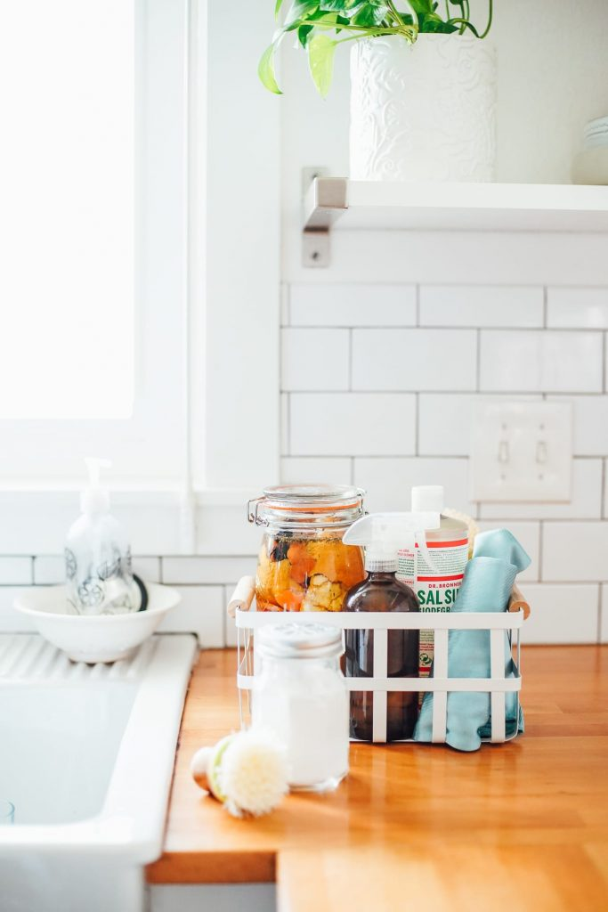 natural cleaning caddy basics