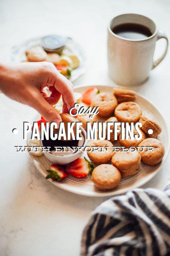 Easy Mini Pancake Muffins