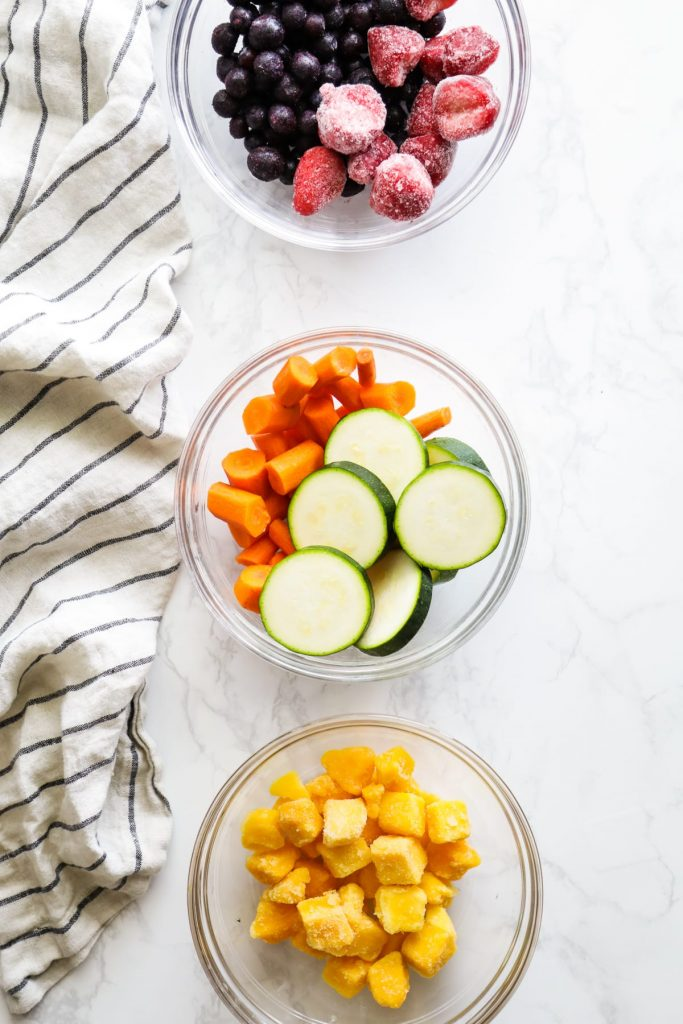 frozen fruit for smoothies
