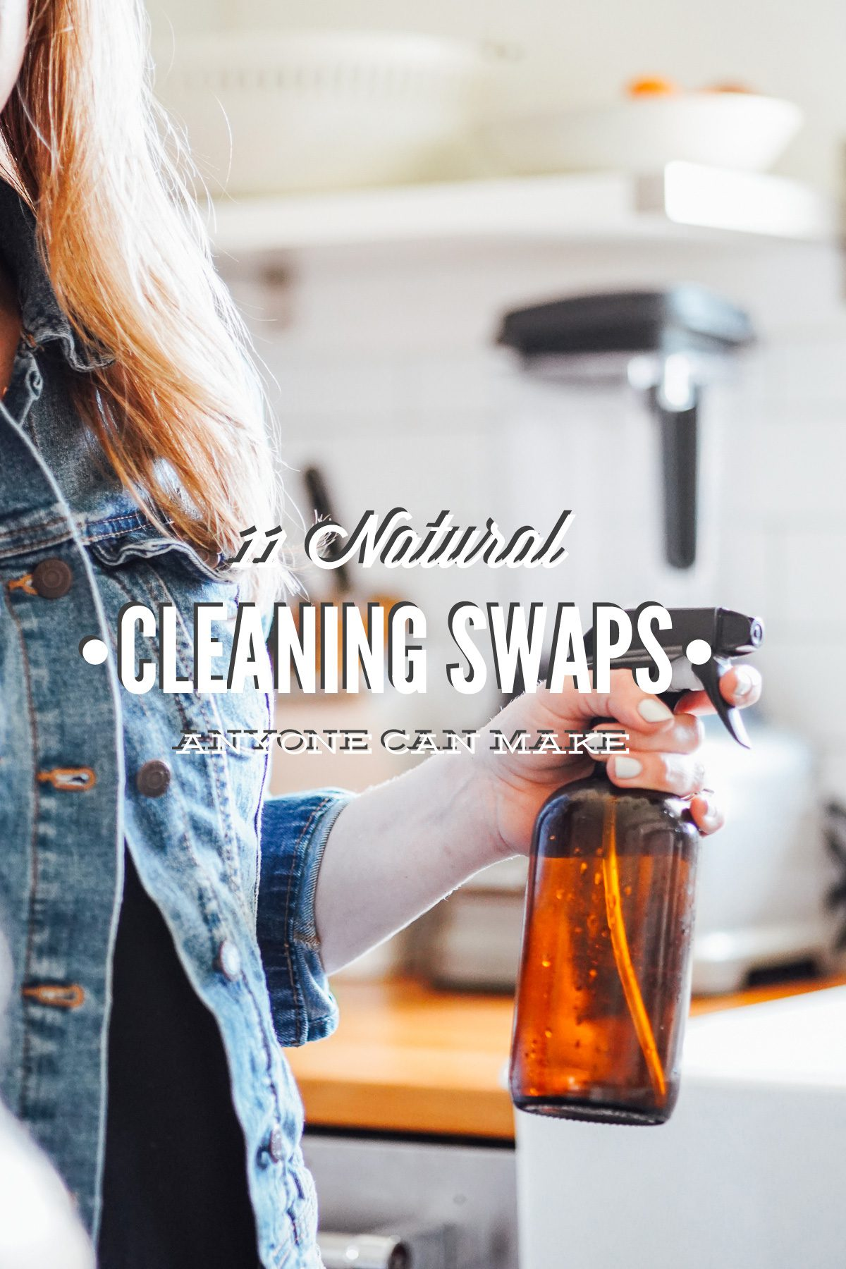 Natural Cleaning Product Swaps Anyone Can Make