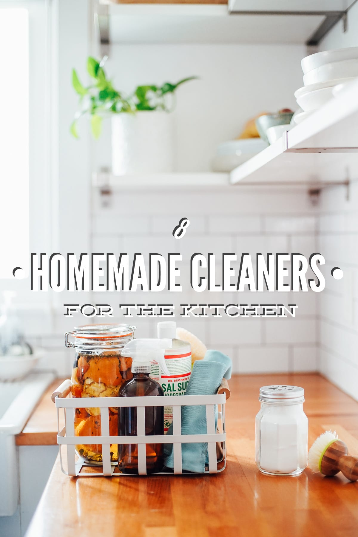 8 Homemade Cleaners for the Kitchen