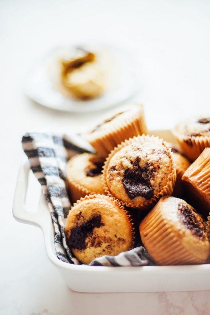 einkorn cinnamon roll muffins