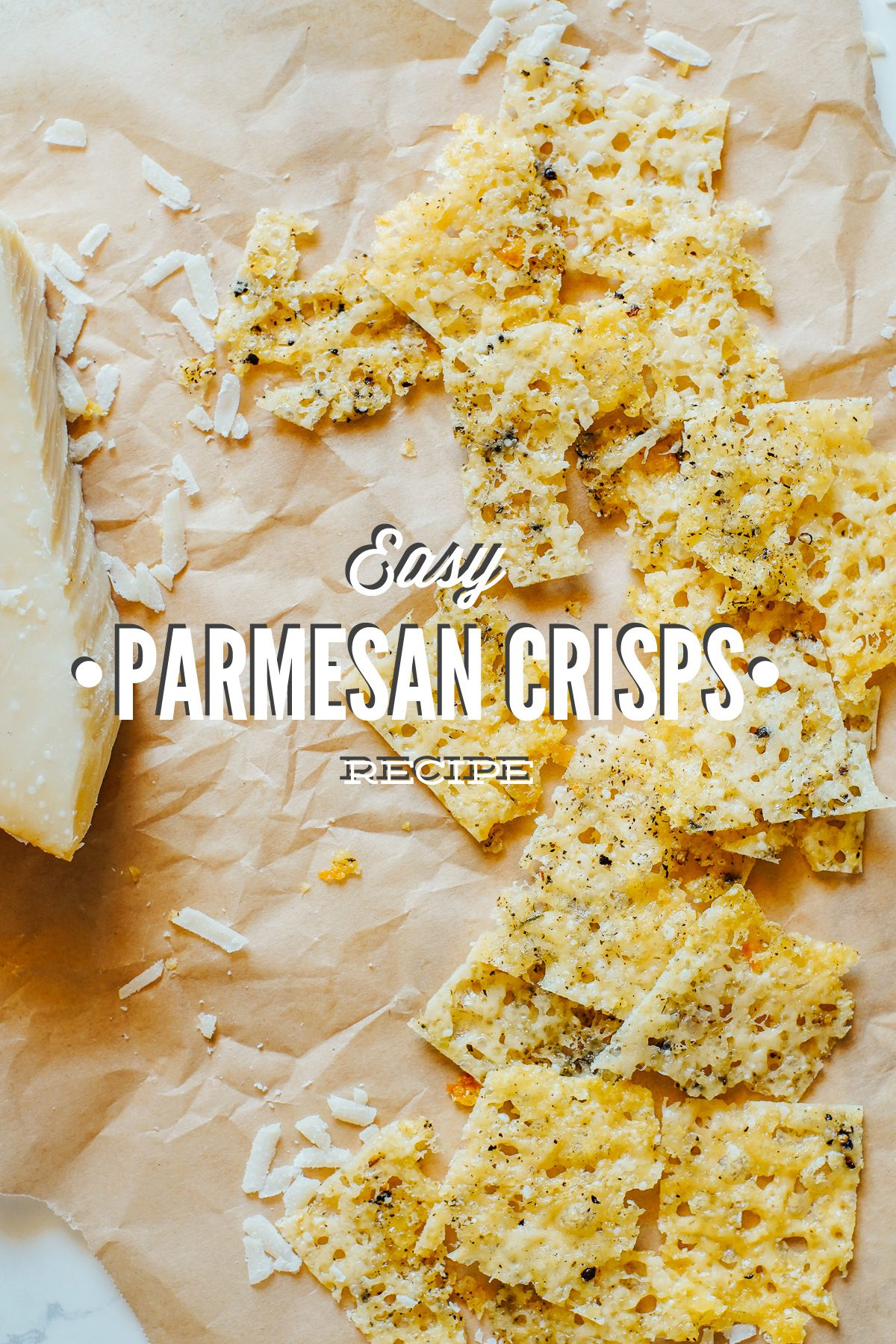 Easy Parmesan Crisps Recipe